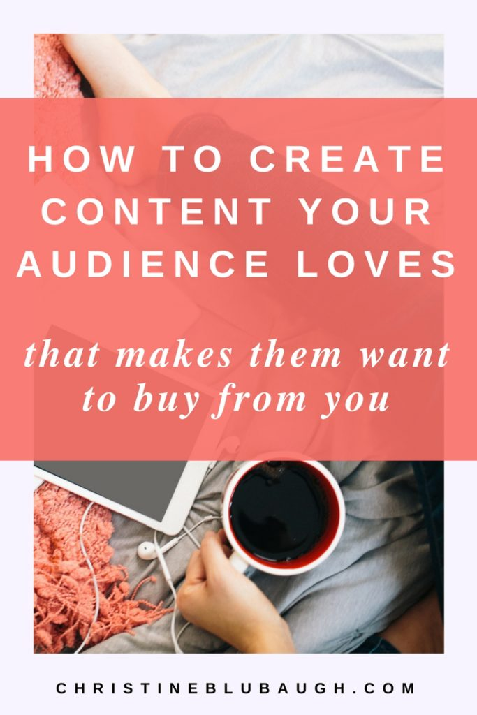 Find out how to consistently create content that your audience LOVES and that makes them excited to buy from you. Click the image to read the post & grab the free guide!