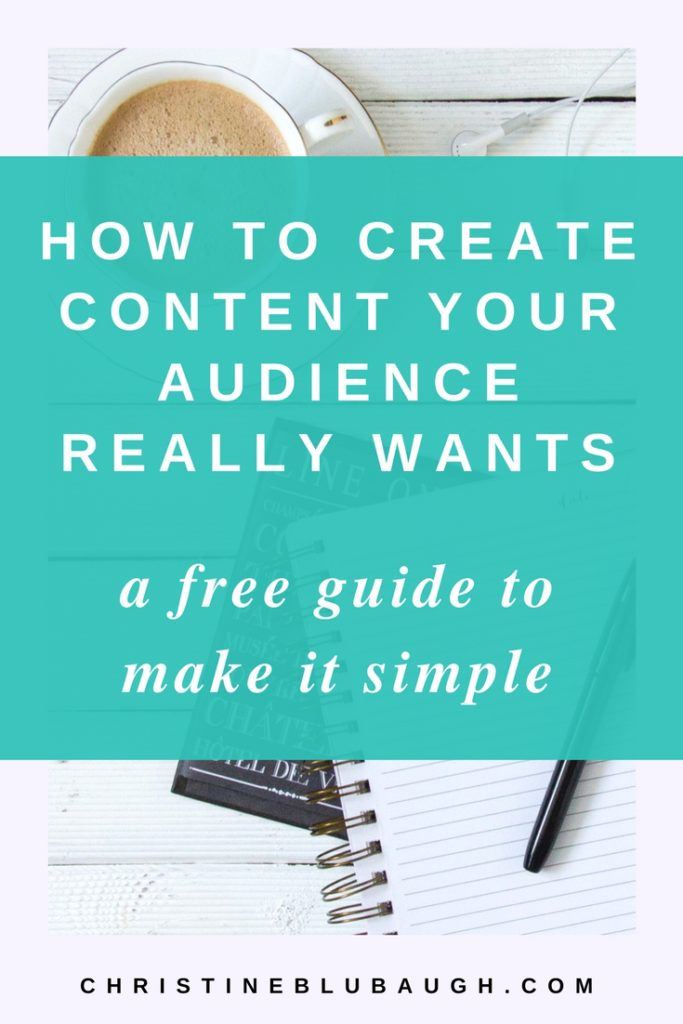 Get to know your dream clients so you can create content they LOVE with this simple, FREE guide. Click the image to get the deets!